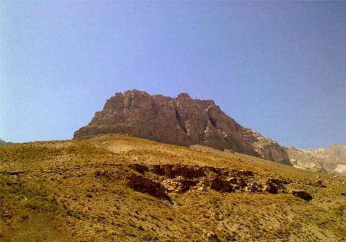 کوه شاه زنده کجاست؟