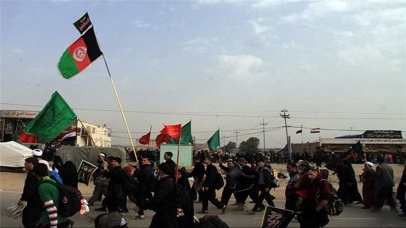 خدمت رسانی موکب داران مرزدوغارون به زائران افغانستان