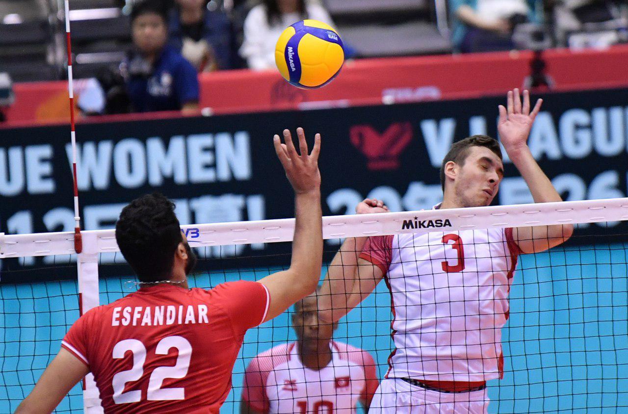 تیم ملی والیبال ایران ۳ - تونس صفر/ تمرین نباختن با پیروزی مقتدرانه همراه شد