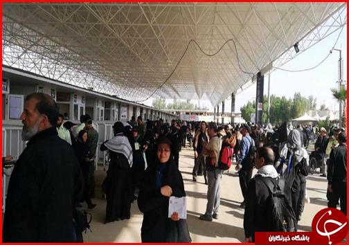 با زائران در مرز مهران؛ مسیر ورودی شمالی شهر مهران تا اطلاع ثانوی بسته شد + فیلم و تصاویر