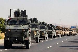 حمله زمینی ارتش ترکیه به نیروهای کُرد در سوریه