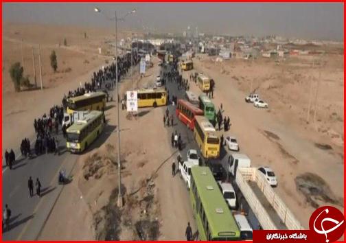 با زائران در مرز مهران؛ مسیر ورودی شمالی شهر مهران تا اطلاع ثانوی بسته شد/ امنیت و آرامش در مرز برقرار است + فیلم و تصاویر