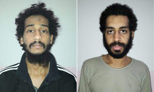 بازداشت جانیان داعشی که کله روزنامه نگاران آمریکایی را قطع کردند+ عکس