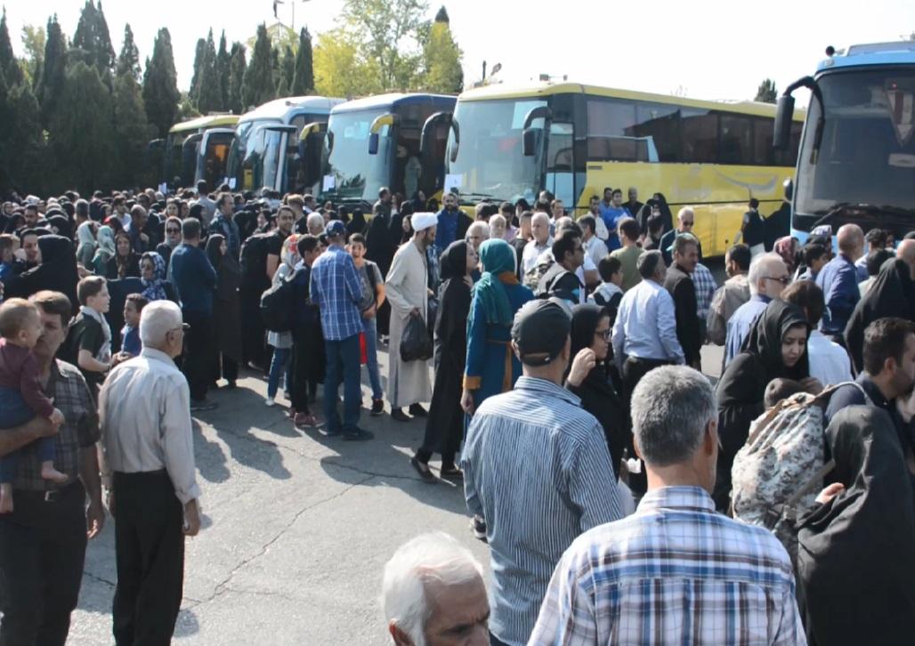 اعزام ۲۰ اتوبوس زائر اربعین محلاتی به عراق