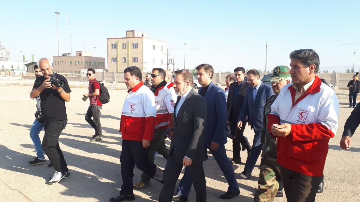 رئیس دفتر رئیس جمهور از نیروهای هلال احمر در مرز مهران تشکر کرد