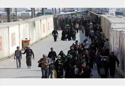 تردد زائران اربعین در مهران از ۸۴۰ هزار نفر فراتر رفت