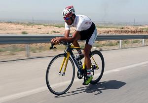 رکابزنان یزدی، فاتح روز نخست لیگ برتر دوچرخه سواری