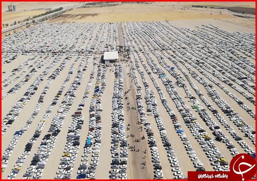 با زائران در مرز مهران؛ ترافیک در محور ایلام به مهران سنگین است/ ۵۰ درصد ظرفیت پارکینگها پر شد/ افزایش نرخ کرایه اتوبوسها از تهران به مرز مهران صحت ندارد + فیلم و تصاویر