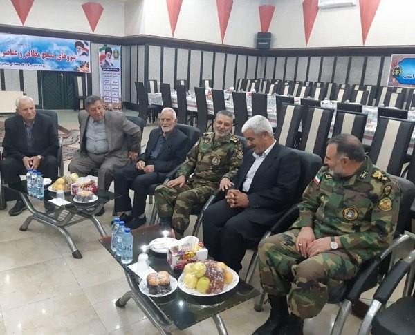 دیدار امیر سرلشکر موسوی با جمعی از پیشکسوتان ارتش