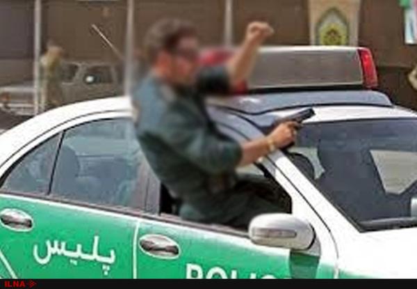تعقیب و گریز قاچاقچیان در شیراز به تصادف ختم شد