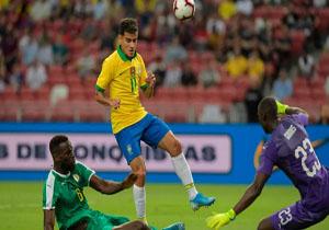 خلاصه بازی برزیل و سنگال در ۱۸ شهریور ۹۸ + فیلم