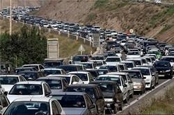 ترافیک سنگین و پرحجم درمبادی ورودی مهران
