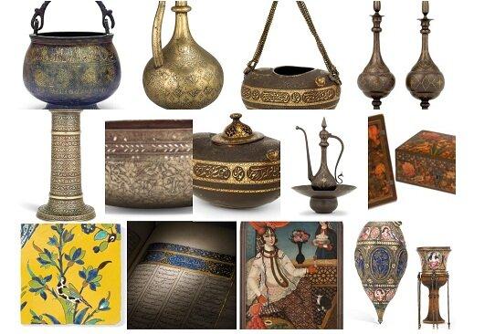 ۵۷ اثر هنری و تاریخی ایرانی در کریستیز