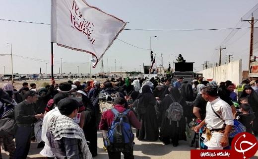 آخرین اخبار از مرزهای کشور / پارکینگ بزرگ اربعین مهران در مرز تکمیلی /زائران به مرز خسروی مراجعه نکنند+فیلم و تصاویر