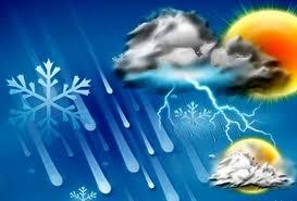 کاهش دما در استان های شمالی کشور/احتمال بارش باران و آبگرفتگی معابر در برخی استان ها