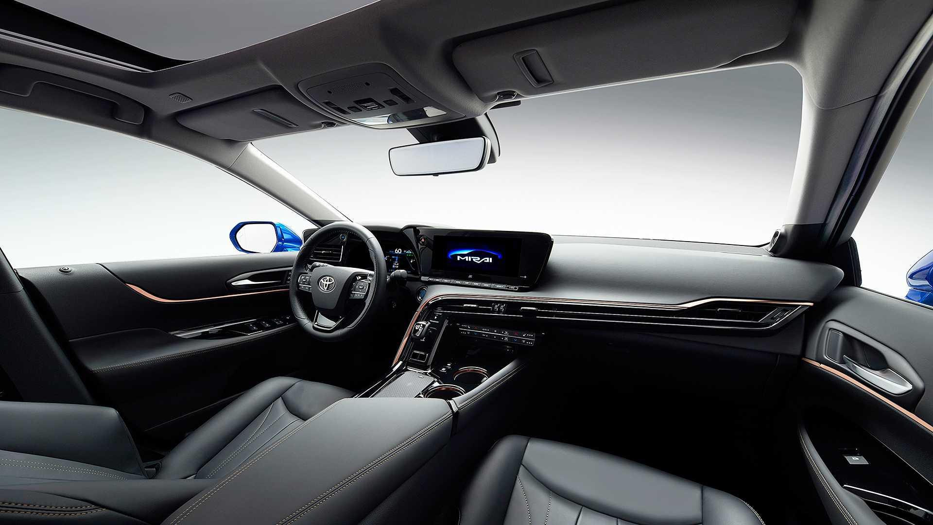 رونمایی از خودروی تویوتا Mirai با پلتفرمی جدید + تصاویر