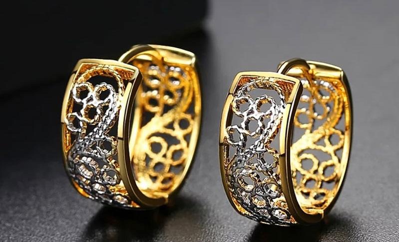 خرید گوشواره طلا زنانه چقدر تمام می شود؟ + قیمت