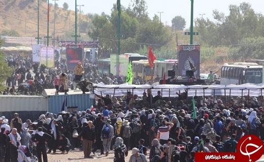 آخرین اخبار از مرزهای کشور / مرز شلمچه بسته نیست /زائران به مرز خسروی مراجعه نکنند+فیلم و تصاویر