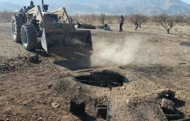 مسدود شدن ۱۲۵ حلقه چاه غیرمجاز در غرب خراسان رضوی