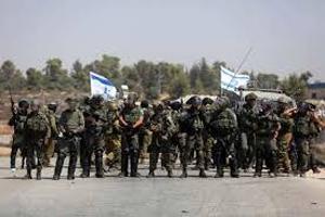 انفجار گاز اشک آور در میان نظامیان صهیونیست