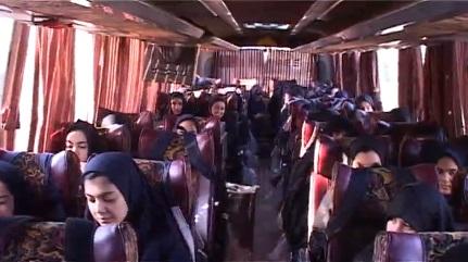 اعزام دانش آموزان دختر آذرشهری به مناطق شمال غرب کشور