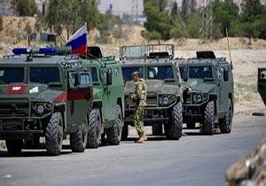 انفجار در مسیر گشتی پلیس نظامی روسیه در درعا