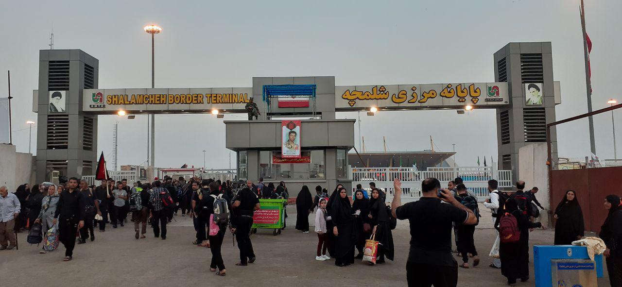 آخرین وضعیت مرز شلمچه برای تردد زائران اربعین
