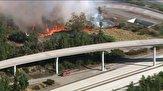 باشگاه خبرنگاران -گسترش آتشسوزی در شمال لس آنجلس