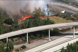 گسترش آتشسوزی در شمال لس آنجلس