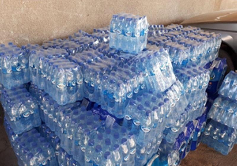 توزیع روزانه بیش از ۵ میلیون لیتر آب شرب در مرز مهران
