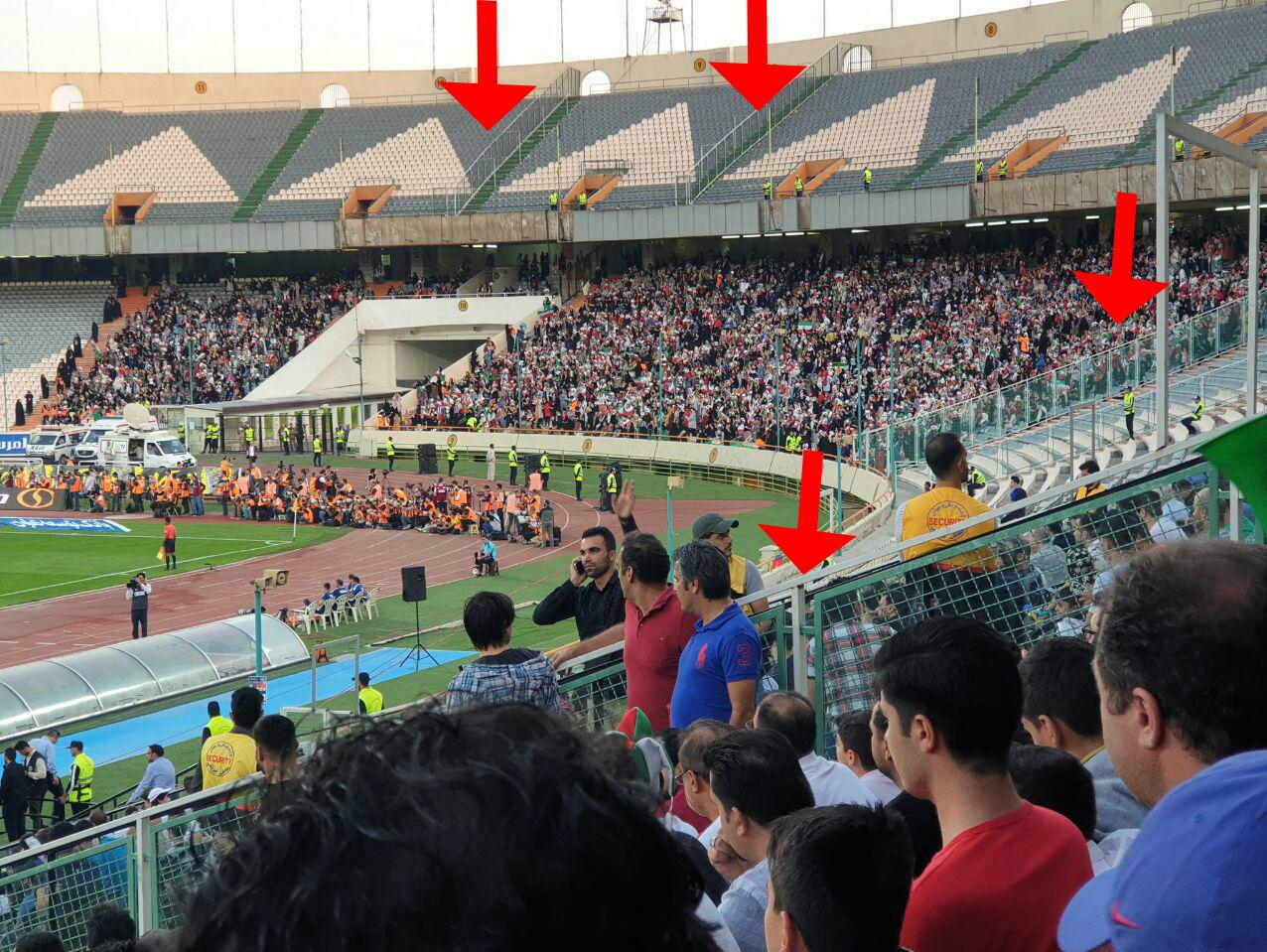 ازشایعه تا واقعیت/ ماجرای حفاظ کشی ورزشگاه آزادی چه بود؟