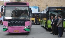 خدمات رسانی ناوگان حمل و نقل سنندج در مرز خسروی