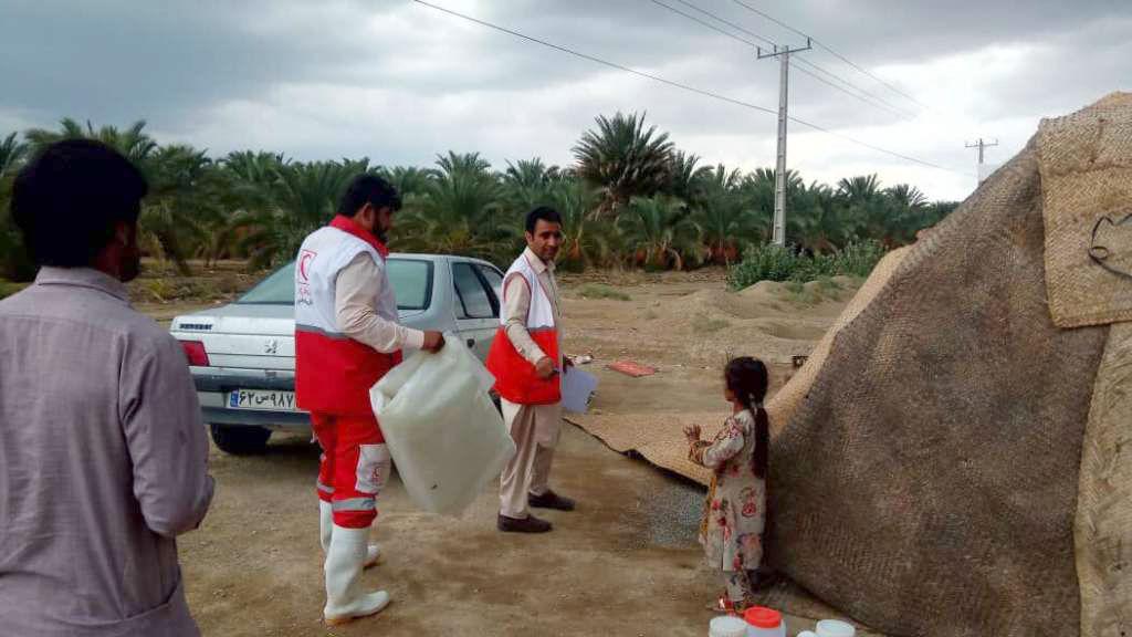 امدادرسانی به سیلزدگان سیستان و بلوچستان پایان یافت