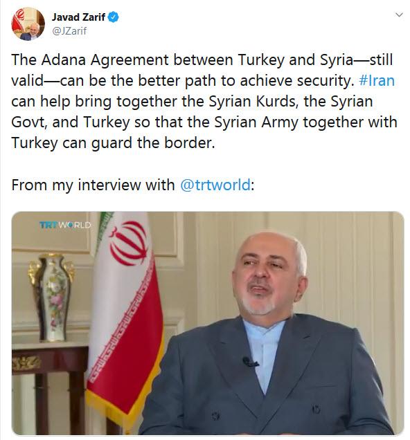 ترکیه و سوریه باید به همراه یکدیگر از مرزهایشان دفاع کنند