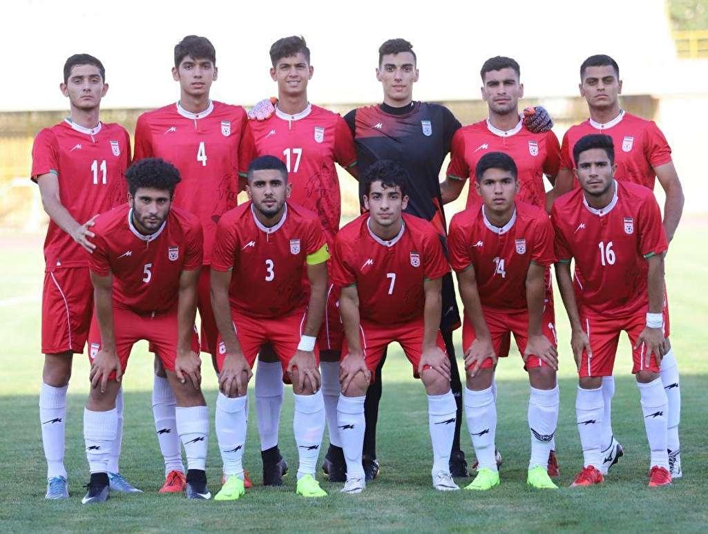 دیدار تدارکاتی تیم ملی فوتبال جوانان با یک تیم لیگ برتری