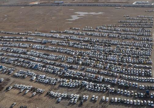 باشگاه خبرنگاران -پارکینگ مرز شلمچه هنوز ظرفیت دارد/ آمادگی ۱۱ پارکینگ جدید