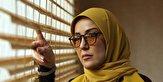 باشگاه خبرنگاران -شوخی منشوری خانم بازیگر در مراسم اکران فیلم سینمایی «مسخرهباز» + فیلم
