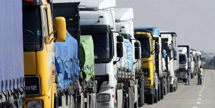 آماده باش ۲۰۰ دستگاه ناوگان باری همدان برای اعزام به عراق
