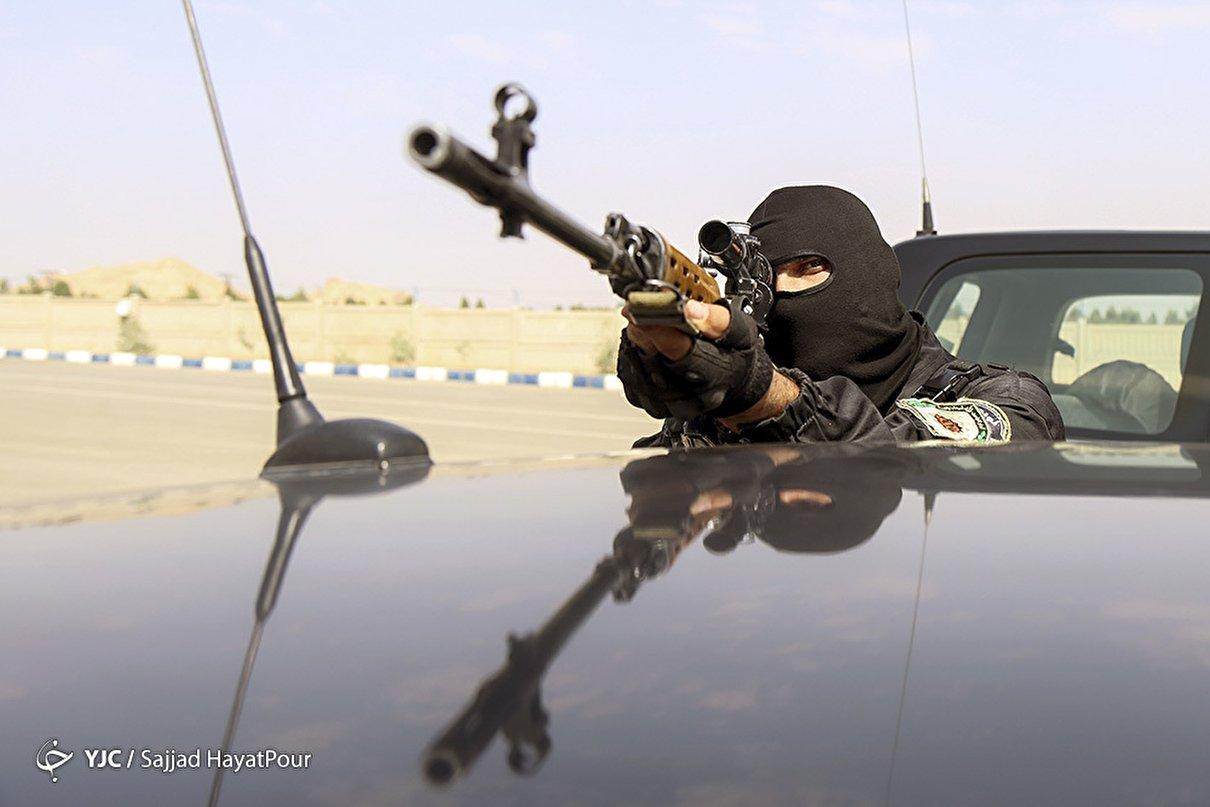 تمرین نوپو و یگان ویژه نیروی انتظامی قم