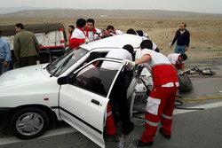 تصادف در جاده سمیع آباد تربت جام سه کشته برجای گذاشت