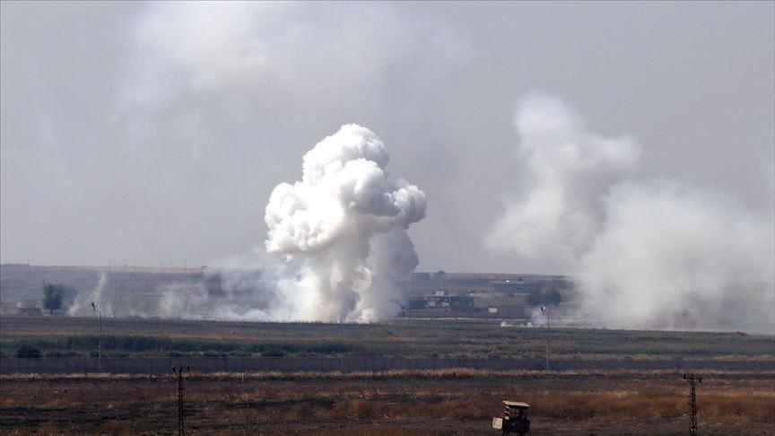 باران خمپارههای سوریه بر سر مناطق مرزی ترکیه + فیلم
