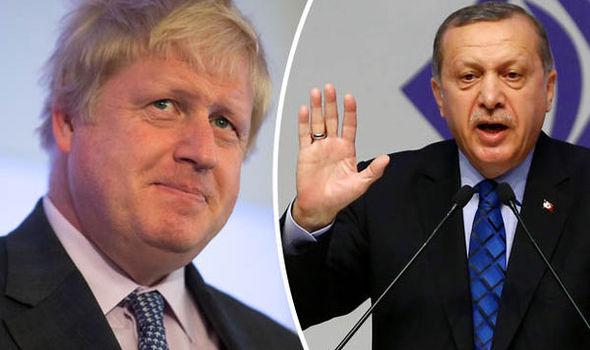 گفت و گوی تلفنی جانسون و اردوغان درباره عملیات ترکیه در سوریه