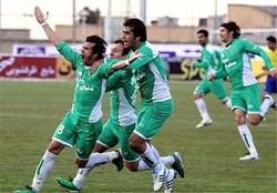 برد تیم پاس برابر تیم شهدای زرکان در لیگ دسته دو فوتبال کشور