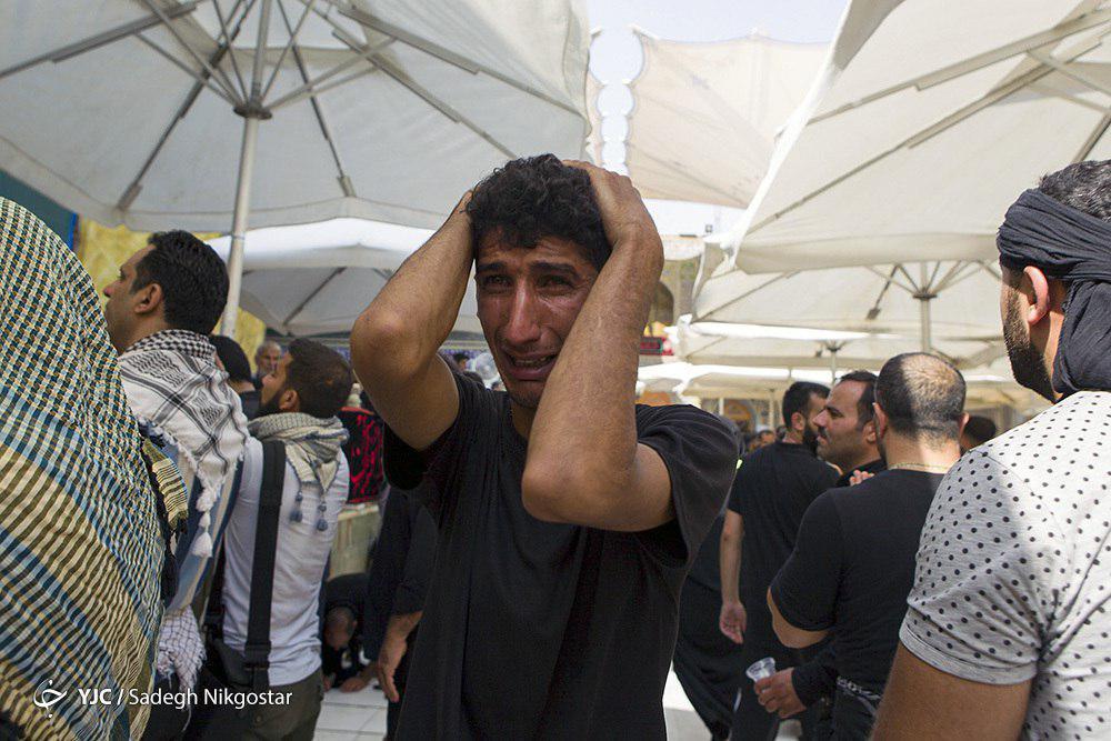 حال و هوای حرم خانه پدری در آستانه اربعین +تصاویر