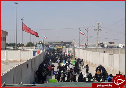 جدیدترین اخبار از وضعیت تردد زائران در مرزها؛ تردد در مرز خسروی بدون گره ترافیکی/ خودروها برای جابجایی زائران راهی کشور عراق شدند + فیلم و تصاویر