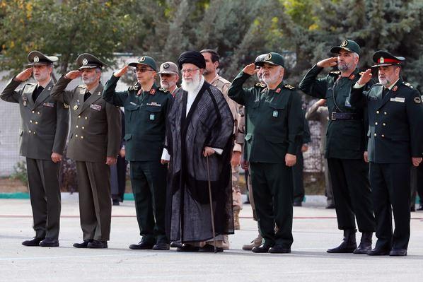 حضور فرمانده کل قوا در دانشگاه افسری و تربیت پاسداری امام حسین(ع)