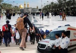 جدیدترین آمار از خدمات اورژانس به زائران اربعین/ ۲۲۰ مصدوم از عراق به مرزهای ایران منتقل شدند