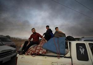 تعداد آوارههای شمال سوریه به ۱۳۰ هزار نفر رسید