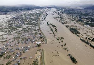 شمار قربانیان توفان هاگیبیس در ژاپن به ۲۶ کشته رسید