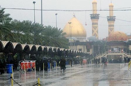محبی / آخرین جزئیات آب و هوای مسیرهای مشرف به کربلا / آسمان تهران بارانی است